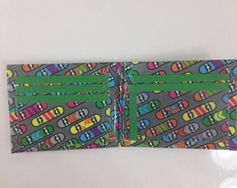 Skateboard Duct Tape Wallet