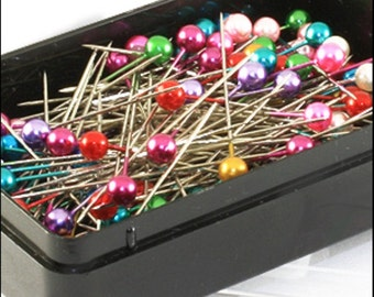 Craft Pins - 144 Assorted pieces 40 x 0.58mm JR06031