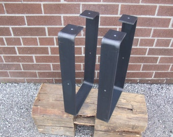 """Free Shipping - Raw Steel """"U"""" Style Legs - Free CAN Shipping 50% off US Shipping"""
