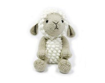 Crochet doll, Amigurumi,sheep doll,Animal,Made to order