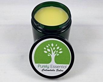 Organic Calendula Salve | Herbal Salve | Calendula Infusion | Sun Infused | Solar Infused | Natural | Skincare | First Aid