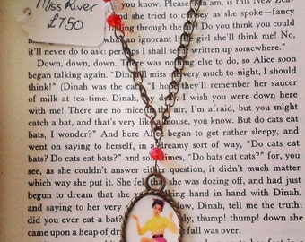 Rockabilly Pin Up Girl Necklace
