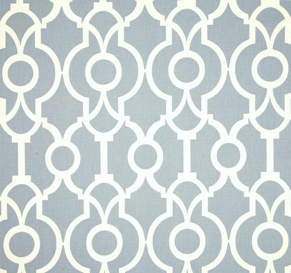 Contemporary Chambray Blue Fabric By The Yard By CottonCircle