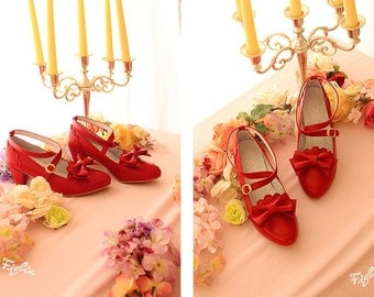 O036 Dear My Princess shoes - 2 color