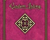 custom listing for Kelsey- Dante's Inferno