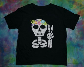 Hippy Skeleton T-shirt