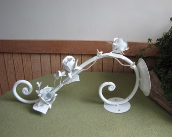 Vintage Metal Wall Candle Holder Outdoor Gardens