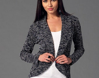 McCall's Sewing Pattern M7254 Misses' Cardigans with Shawl Collar Variations