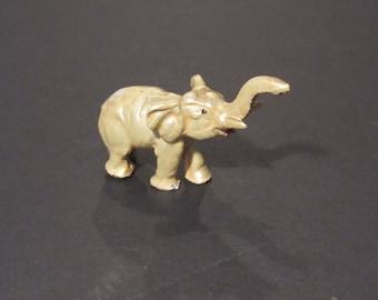 vintage mini pearl elephant