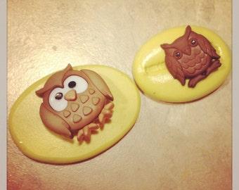 Owl Animal Set Silicone Mold