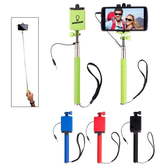 50 selfie sticks personalized selfie sticks by ineedpromotionals. Black Bedroom Furniture Sets. Home Design Ideas