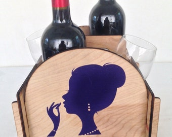 4 Pack Wine Caddy