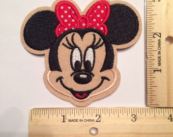 One Red Minnie Mouse Patch