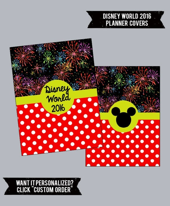 2016 Disney World Planner Cover Style 2 By MagicTravelPrep