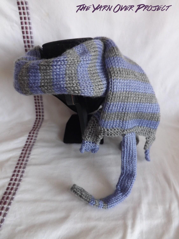 Animal Scarf - Knitted Cat Scarf - Knitted Scarf - Knitted Cat ...