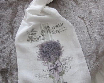 LAVENDER Provence France Tea Towel FRENCH Chic ~ Beautiful