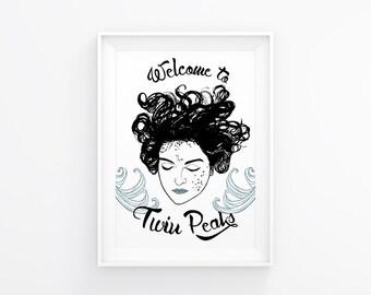 Twin Peaks Laura Palmer Print