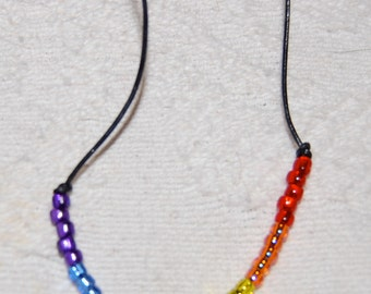 Rainbow Pride Necklace - FREE SHIPPING