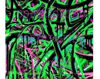 Graffiti Art Canvas