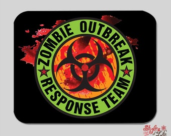 Zombie Outbreak Response Team Computer Mousepad
