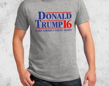 Donald TRUMP 2016 Election T-shirt Make America Great Again S-4XL in Many Colors Adult Youth Baby sizes
