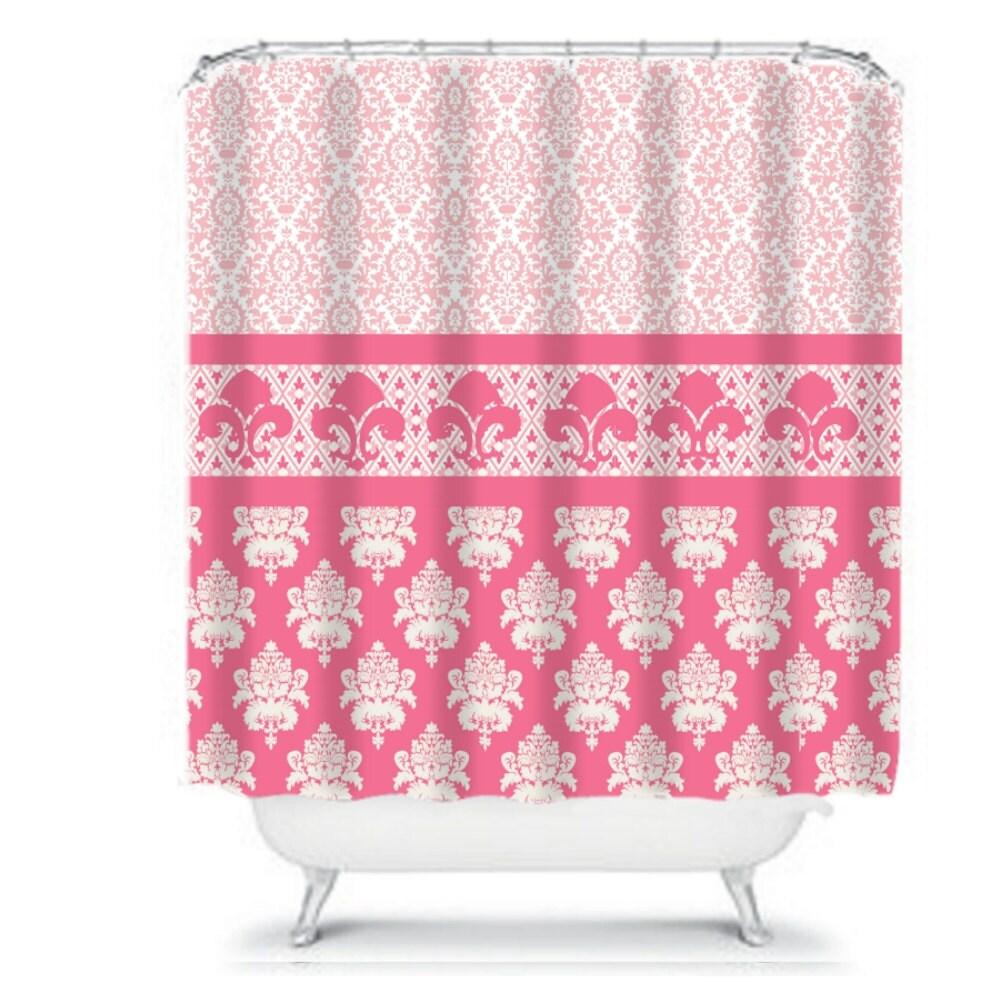 Chandeliers pendant lights - Fleur de lis shower curtain ...
