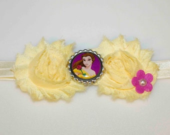 Belle Beauty and the Beast Headband