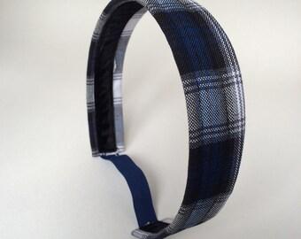 School Uniform Headband- Custom Plaid Uniform Headbands #18