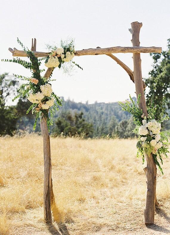 Extrem Arche de mariage bois flotté Tonnelle bois flotté mariage EO05