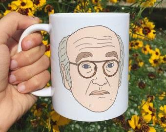 Larry David! 11 oz Mug - Portrait Mug by Mug Mugs™