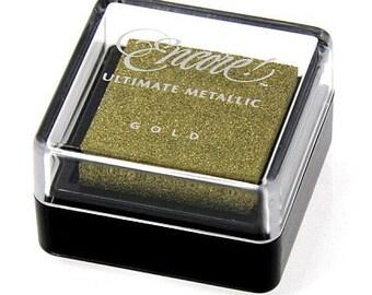 Gold ink pad Encore Ultimate Metallic
