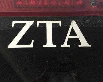 ZTA Decals