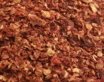 Crushed Habanero Chile Flakes