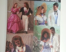 Masquerade Ball Gown / costume party / Beauty Beast sewing Pattern, Size 34 36 38 40 42 44, Size 6 8 10 12 14 16 18, Simplicity 7971