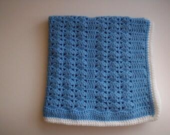 PREEMIE boy blanket