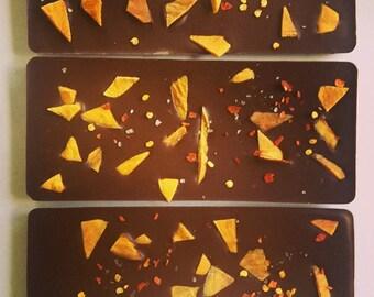 Organic Raw Chocolate Mango and Chilli Bar 50g
