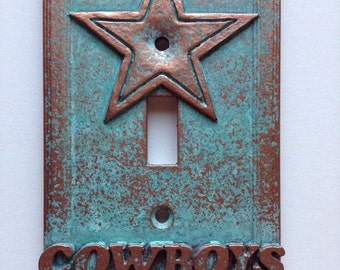 Dallas Cowboys - Light Switch Cover