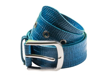 Recycled Blue Belt Similar to Fire Hose