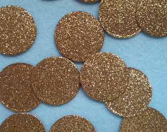 Double Sided Glitter Gold Wedding, Bridal Shower, Baby Shower, Birthday Party Confetti