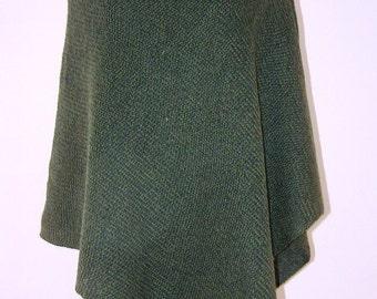 Women Poncho 100% merino wool sweaters Pure New Wool Cape Women's Cape Coat Bordeaux Wool Poncho Feminine Shawl Ponchos For Women Cape