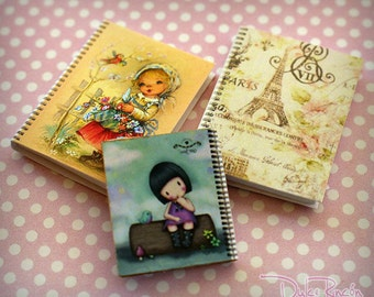 Notebooks for dolls