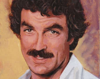 Tom Selleck Limited Edition Postcard Print