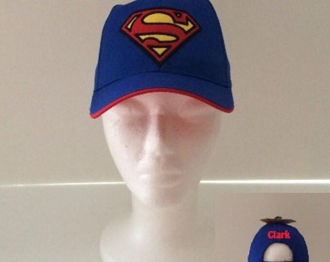 SUPERMAN Blue Toddler Baseball Cap