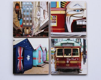 Melbourne Iconic Series 1 Set Of 4