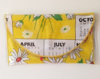 Daisy - Yellow Clutch Wallet
