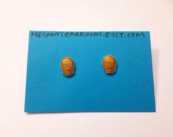C3-PO Earrings.