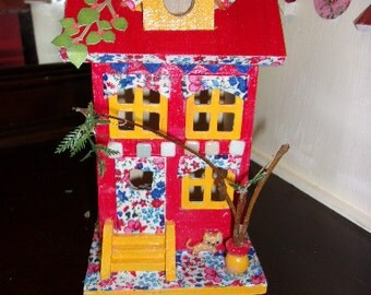 Yellow Cat House