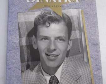 FRANK SINATRA  By Jessica Hodge Large Hard cover Rat Pack Tommy Dorsey Nelson Riddle Discography Filmography