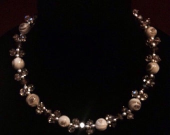 Beautiful Beaded Necklace adds to any outfit!
