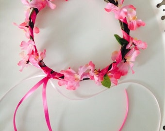 Cherry Blossom Crowns
